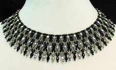 Free pattern for necklace Elaine