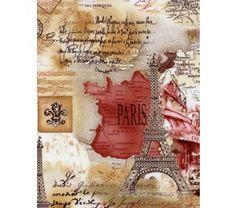 M2016-J Tecido para Patchwork Paris Sepia KG12 - A partir de: - Tecidos Importados - Patchwork