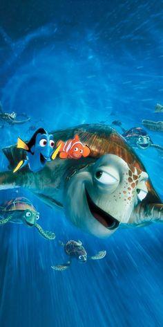Disney Pixar, Film Disney, Disney Movies, Finding Nemo Dvd, Finding Nemo Poster, Finding Nemo Turtle, Streaming Hd, Streaming Movies, Nemo Wallpaper