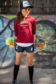 Isis Christ - Mormaii | Inverno - fashion tween - skateboard - street - foto Michele Cruz