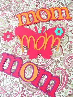 Mother's Day Decor & Papery  By Corazones de Papel #corazonesdepapel #mothersday https://www.facebook.com/corazonesdepapeltj?ref=hl