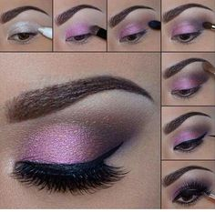 Beautiful eye make up.especially for brown eyes,i Beautiful eye make up.especially for brown eyes,i think. Beautiful eye make up.especially for brown eyes,i think. Eye Makeup Diy, Smokey Eye Makeup Look, Purple Eye Makeup, Beauty Makeup, Makeup Hacks, Makeup Ideas, Beauty Tips, Beauty Products, Makeup Products
