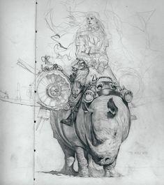 My sketchbook feat. Joao Paulo Alvares Ruas
