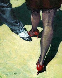 David Riley. Tango feet.