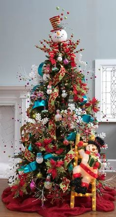 UK Christmas tree for the den GO CATS  Christmas Things I