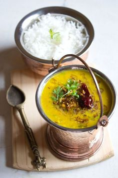 The very popular Lentil curry from India - Daal by @Dassana