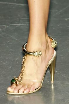 McQueen stilletos - FashionFilmsNYC.com- don't really like the heel height but I luvvvvv d creative design!!!