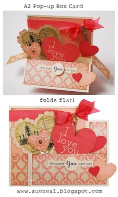 Q's Creative Cards: All Hearts 3D Cards