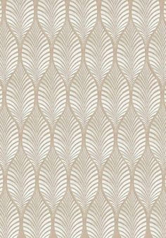 Deilen embroidery woven fabric in Cream on Natural Linen.  Anna French / Thibaut