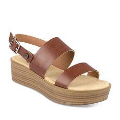 e1ed8af3eb8 Sandales à talon MARRON GRANDS BOULEVARDS - Sandales et nu-pieds - Femme