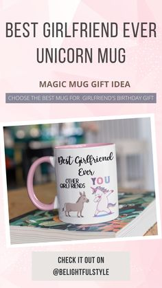 Unless otherwise shown, the design is printed on one side of the mug. Birthday Gifts For Girlfriend, 40th Birthday Gifts, Valentines Gifts For Her, Best Girlfriend Ever, Girlfriend Humor, Funny Coffee Mugs, Coffee Humor, Auntie Gifts, Mugs For Sale