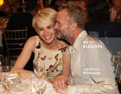 NEW YORK - MAY 08: Trudie Styler and Sting attend the 2008 Rainforest Foundation Fund benefit concert after party at the Plaza Hotel on May 8, 2008 in New York City. **EXCLUSIVE** (Photo by Kevin Mazur/WireImage)
