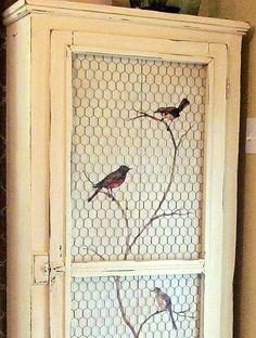 bird-pie safe