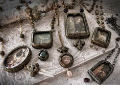 new pictorial pendants for February | Jen Parrish-Hill | Flickr