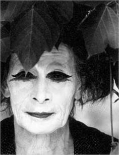 Kazuo Ohno:photo by Peter Sempel founder of Butoh.
