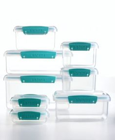 Martha Stewart Collection 16-Piece Food Storage Container Set - Kitchen - for the home - Macy's