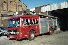 A late 70's/early 80s Dennis RS, from South Yorkshire Fire