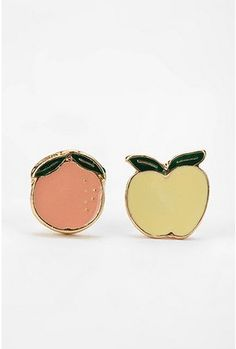 Georgia peach & Washington apple (wish it was red) for my lovely daughter!