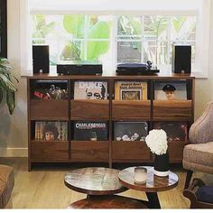 Vinyl cabinet install for @vinvescio looking right at home in LA. Let the get…
