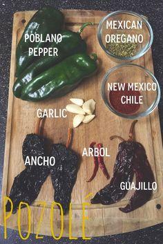 Traditional Mexican Chicken Pozole Recipe | via elminaloves.blogspot.com