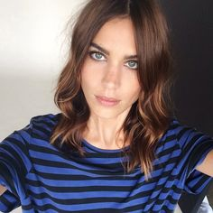 #Selfie style by #AlexaChung (at shop via the link in our profile)