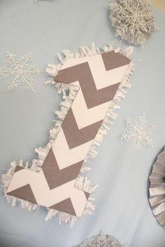Winter wonderland ONE-derland 1st birthday party- baby boy - dessert table - sweets candy table ideas - chevron - owl - grey