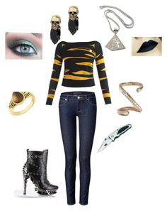 """Isidora Phoenix"" by lstephen ❤ liked on Polyvore featuring Kenzo, Iosselliani, Giani, Juicy Couture and GUESS"