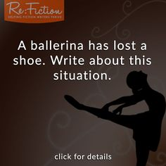 Ballerina With One Shoe