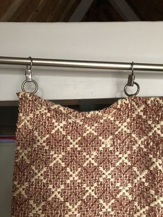 Pair of antique woollen handwoven brown and beige curtains by MarieVintageStore on Etsy Beige Curtains, Diamond Pattern, A Table, Hand Weaving, Vintage Items, Pairs, Antiques, Brown, How To Make