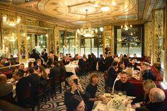 Editor in chief Deborah Needleman hosted a dinner last night at Le Grand Véfour in Paris to honor our new fashion director. Conciergerie Paris, Tour Saint Jacques, Rue Montorgueil, Galerie Vivienne, Funny Slogans, I Love Paris, Ny Times, Paris France, New Fashion