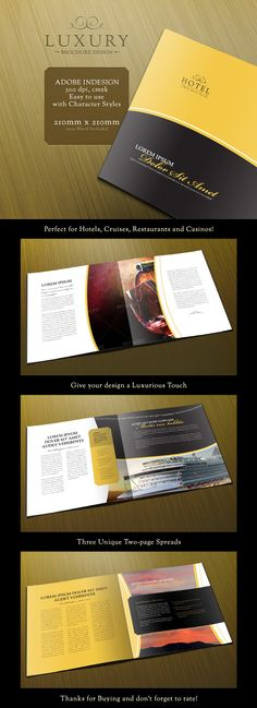 Luxury 8-Page brochure for sale on graphicriver