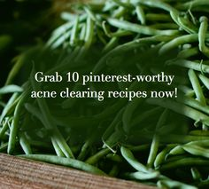 Love pinterest recipes, AND natural acne clearing advice? Grab more recipes here for glowing skin:)