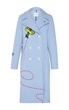 Fly Away Rocket Coat by MIRA MIKATI for Preorder on Moda Operandi