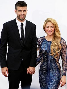 Piqué and Shakira