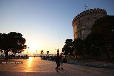 #Greece #Thessaloniki #Yunanistan #Selanik #WhiteTower #Sunset #BeyazKule #Günbatımı