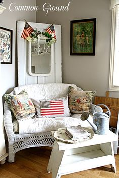 Scenes from the Patriotic Sitting Room