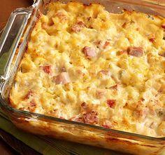 Sonkás sajtos rakott burgonya - bármilyen alkalomra tökéletes! - www.kiskegyed.hu