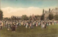 May Day at Bryn Mawr College Pennsylvania 1924