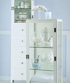Repurposed Storage Cabinet