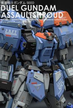 Custom Build: MG 1/100 GAT-X102 Duel Gundam Assault Shroud [Detailed] - Gundam…