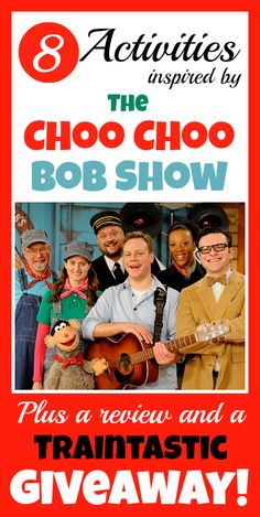 Review: The Choo Choo Bob Show - Train DVDs Books and CD for Preschoolers and School-Age Kids at Play Trains! Plus a traintastic giveaway!