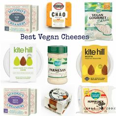Vegan cheeses all suck, right? They don't melt. They taste horrible. Ummmm…. No! Today I'm sharing the best of the best out there
