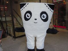 G-panda, mascot of Kojima jeans street in Kurashiki-city.  児島ジーンズストリートイメージキャラクター「Gパンダ」