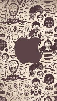 iPhone5 wallpapers Comic Villains
