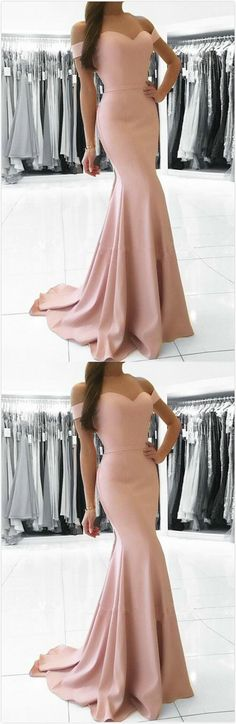 Off shoulder mermaid prom dress,stain prom dress,sweetheart prom dress,sexy evening dress