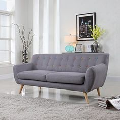 Mid-Century Modern Linen Fabric Sofa, Loveseat in Colors ... https://www.amazon.com/dp/B0161U9JYA/ref=cm_sw_r_pi_dp_x_SM-aybKSFJA0A