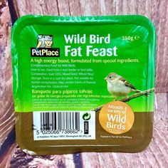 Wild Bird Fat Feast Suet Block High Energy Boost Special Ingredient Feeder Table for sale High Energy, Wild Birds, Fat, Foods, Drinks, Table, Food Food, Drinking, Beverages