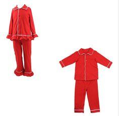 Red Christmas PJ's | R.K. Renee