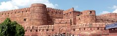 Agra Red Fort isconsidered as one of the must-visit destinations. This red sandstone madestructure is the symbol of the enchanting Royal Mughal Era in India. Agra iswell connected with the capital Delhi and other cities through frequent trainservices.