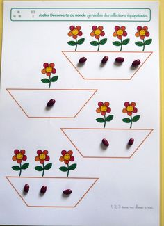 Printing Ideas Useful Excel Meme People Sudoku, Preschool Decor, Montessori Math, Petite Section, Kindergarten Lessons, Teaching Math, Pre School, Preschool Activities, Diy For Kids